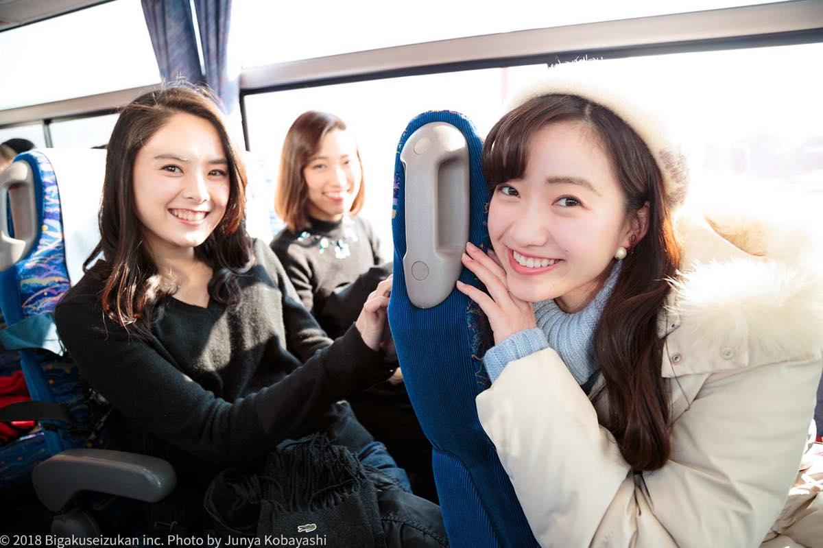 バスの中1