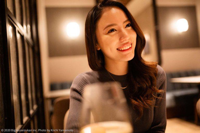色気溢れる4年生美女と……♡表参道のレストランでグラスを交わす甘い夜