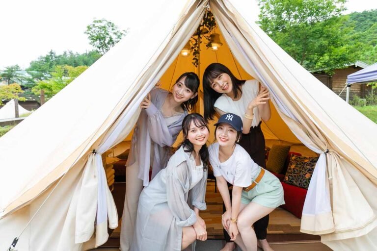 【GRAX京都るり渓】グランピング&贅沢BBQで夏の女子旅を満喫!(レポート前編)