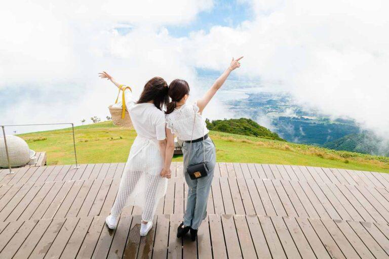 【びわ湖バレイ】まるで空の上!?琵琶湖を一望できる絶景スポットを満喫!